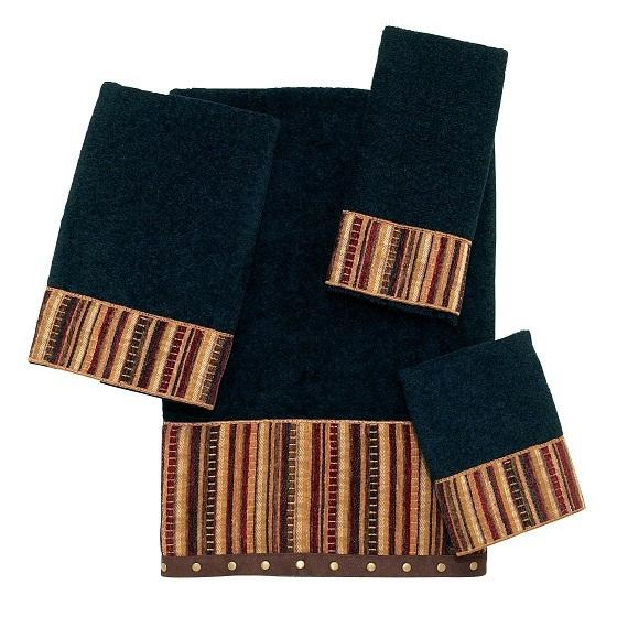 Полотенце 69х127 Avanti Odele черное