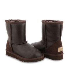 Угги для мальчиков UGG Kids Classic Metallic Chocolate