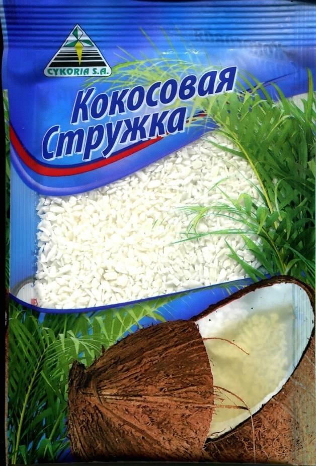 Кокосовая стружка белая, 50 гр.