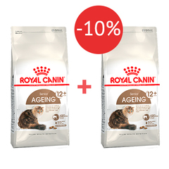 2 кг + 2 кг - 10% Royal Canin Ageing +12