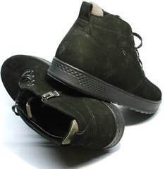 Зимние молодежные ботинки мужские Ikoc 1617-1 WBN.