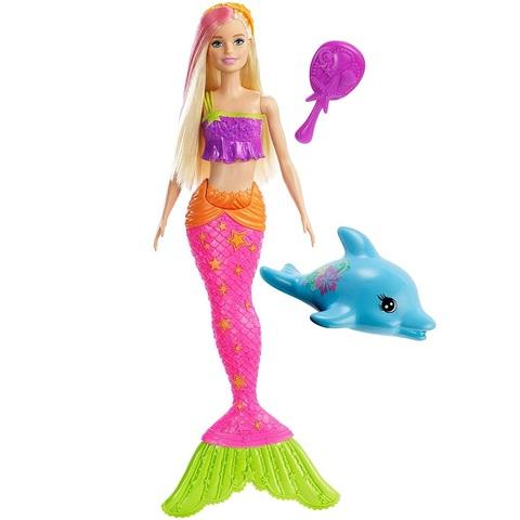 Барби Дом Мечты Сирена с Дельфином