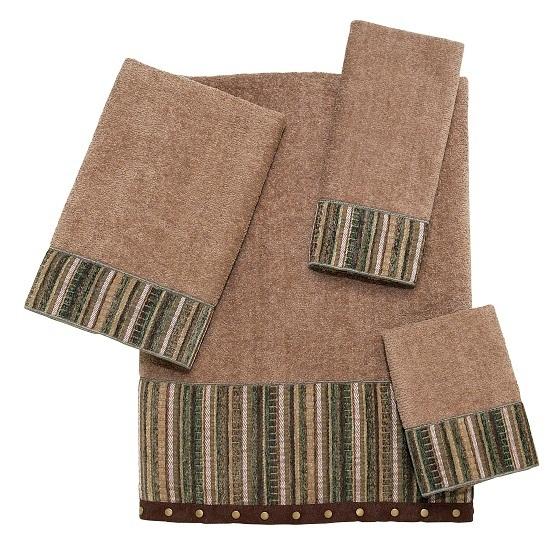 Полотенце 69х127 Avanti Odele коричневое