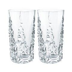 Набор высоких хрустальных стаканов SCULPTURE, 420 мл