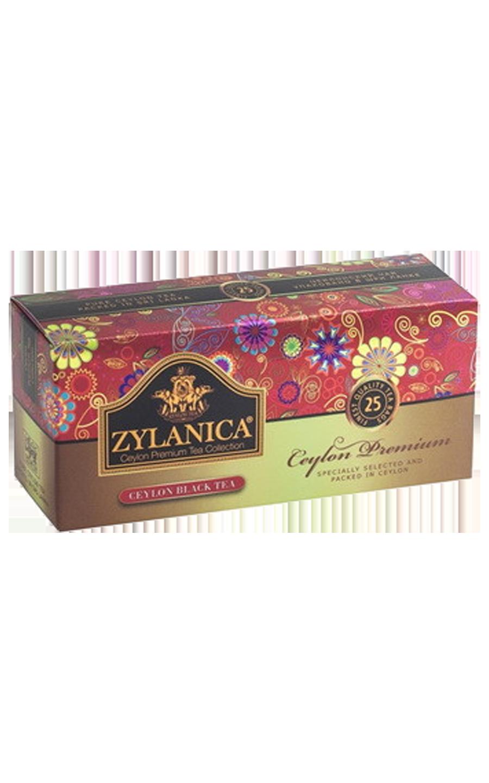 Чай черный Zylanica Ceylon Premium в пакетиках 25 шт