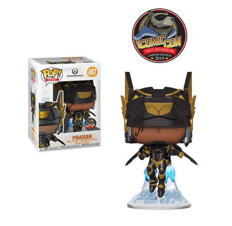 Pharah Overwatch Comic Con Saint Petersburg 2019 Limited Edition Funko Pop! Vinyl Figure || Фарра Эксклюзив Comic Con Saint Petersburg 2019