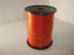 Лента с зол/пол.(0,5 см*250 ярд.) Красная