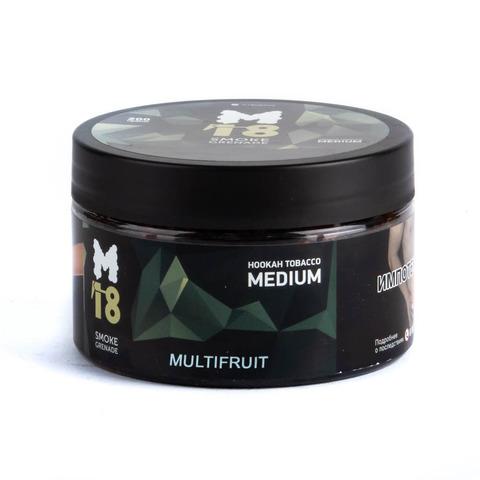 Табак M18 Medium Multifruit (Мультифрукт) 200 г