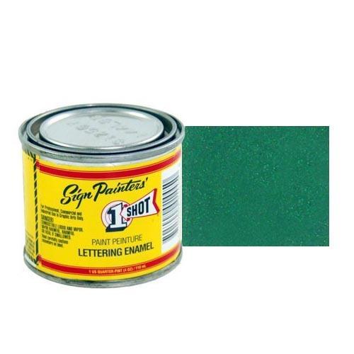 950-P Эмаль для пинстрайпинга 1 Shot Перламутровый сине-зелёный (Blue Green), 236 мл