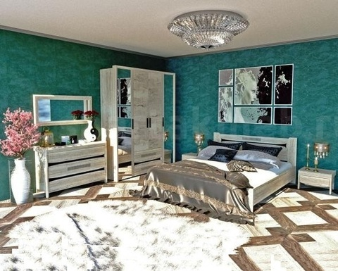 Спальня модульная МАЛЕ-2