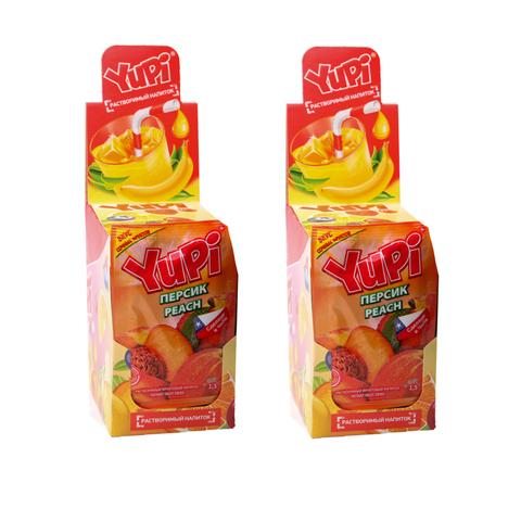Растворимый напиток YUPI Персик  1кор*6бл*24шт 15 гр.