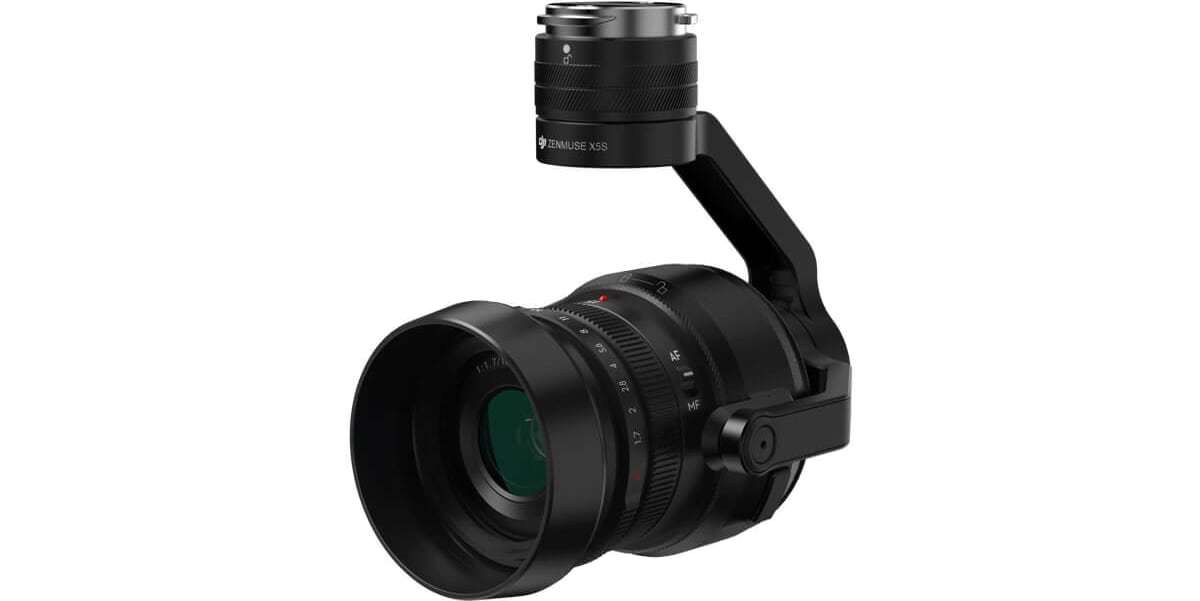 Подвес с камерой и объективом DJI Zenmuse X5S for Inspire 2 внешний вид