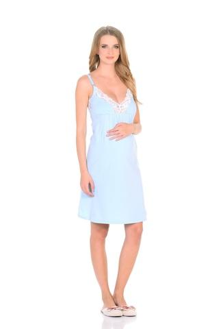Сорочка 09910 голубой