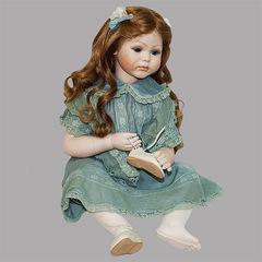 Кукла фарфоровая коллекционная Marigio Matilde