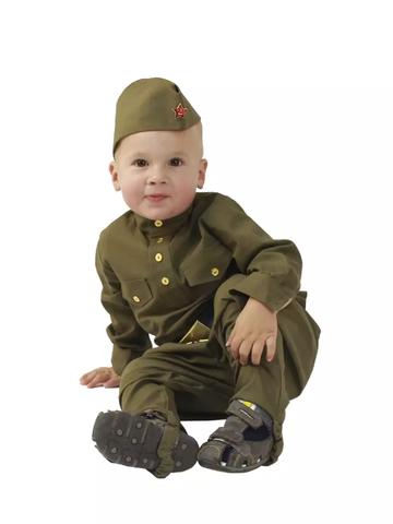 Военная форма солдат с брюками галифе для малыша