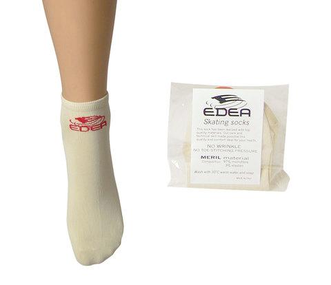 Носки Edea (молочные) для катания на коньках