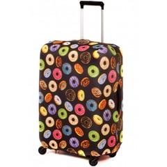 чехол для чемодана «пончик»