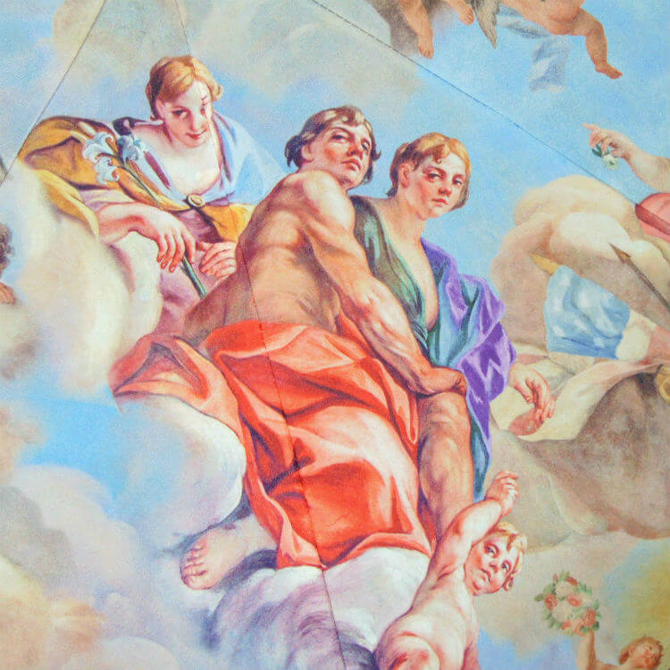 Зонт складной Moschino 8051 Fresco