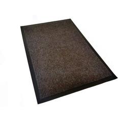 Ковер входной влаговпитывающий КОМФОРТ 90х150 см коричневый