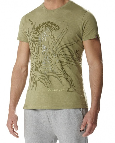 Футболка Onitsuka Tiger Fashion Tiger Tee (5003)