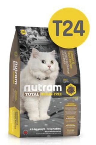 Nutram GF CAT SALMONTROUT корм сухой для кошек беззерновой корм лосось и форель 1,8 кг.