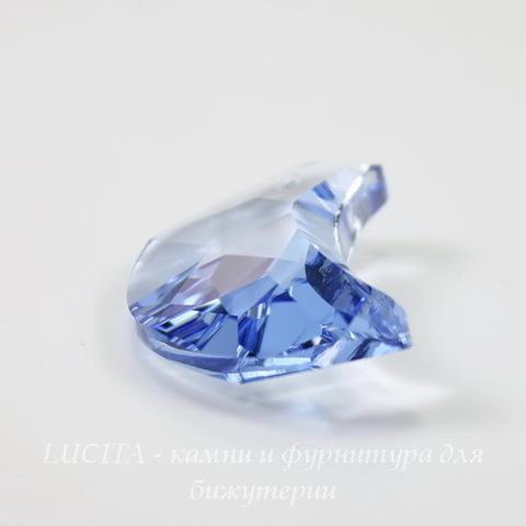 6722 Подвеска Сваровски Moon Light Sapphire (30 мм)