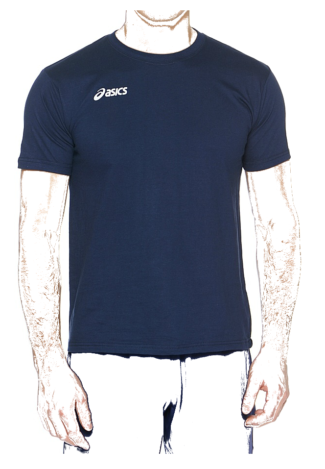 Мужская футболка Asics Promozionali  dark blue (T207Z9 0050)