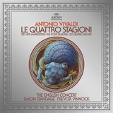 The English Concert, Simon Standage, Trevor Pinnock / Antonio Vivaldi: The Four Seasons (LP)