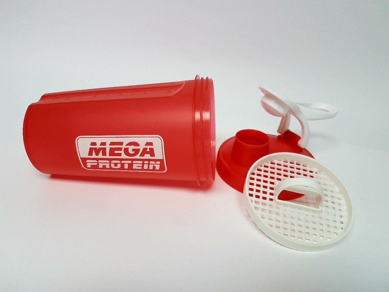 Шейкер Megaprotein (Красный)