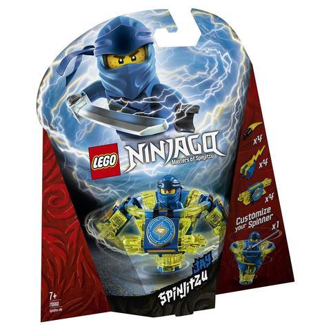 LEGO Ninjago: Джей: мастер Кружитцу 70660 — Spinjitzu Jay — Лего Ниндзяго