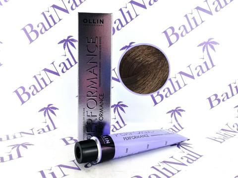 OLLIN PERFORMANCE  5/7 светлый шатен коричневый 60мл Перманентная крем-краска для волос