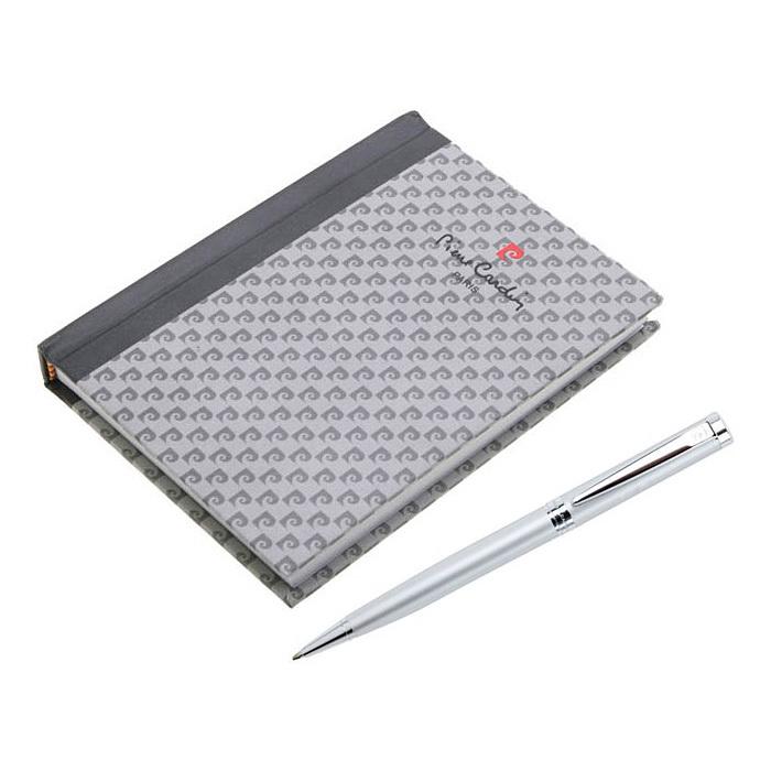 Набор подарочный Pierre Cardin, ручка шариковая + блокнот