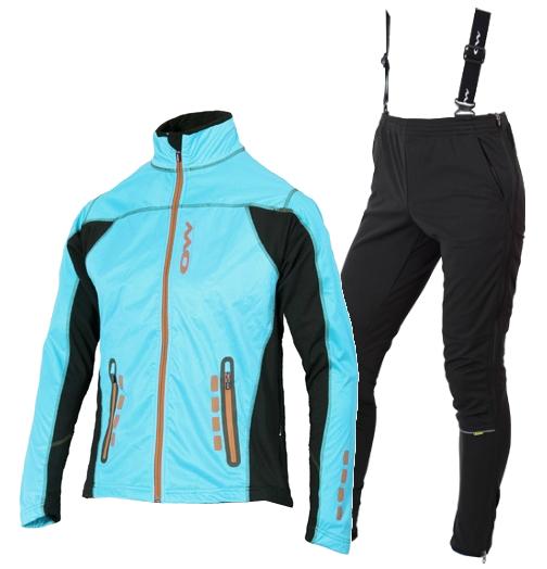 OWE WAY CATAM VIKO женский лыжный костюм бирюза