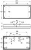 Монтажные размеры аварийного светильника серии SOLID