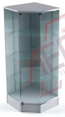 ВП-503 Витрина угловая стеклянная