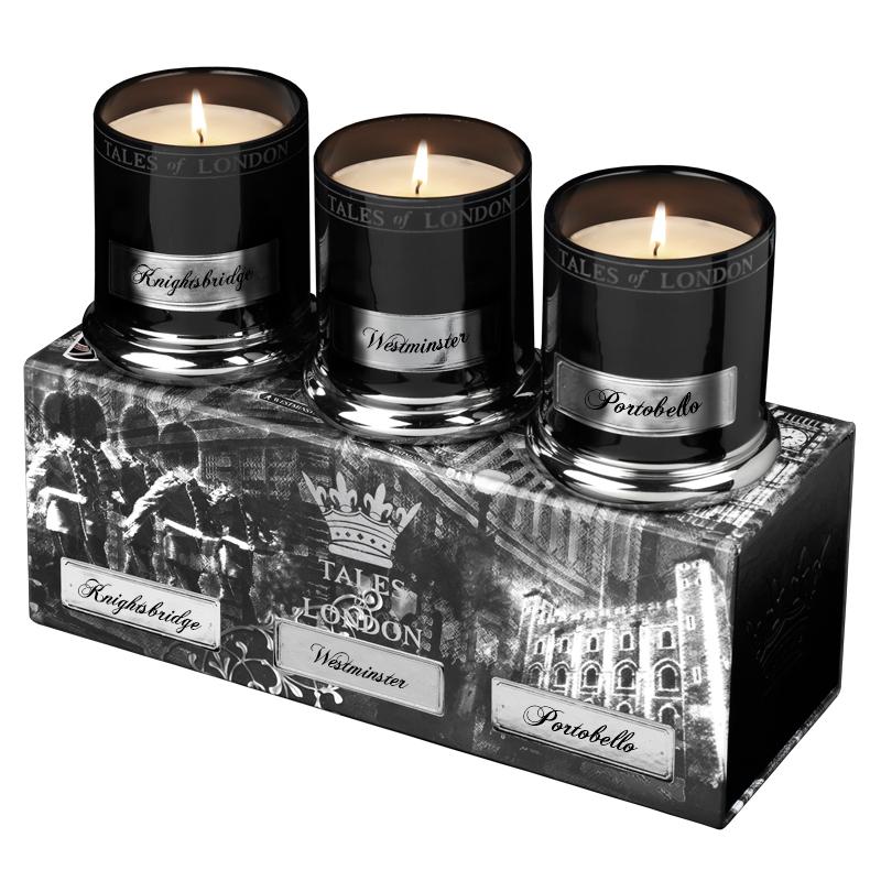 Набор малых свечей Портобелло/Вестминстер/Найтсбридж (Декоративные свечи)