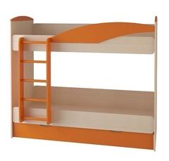 Кровать двухъярусная СБ-45 с ящ., б/матр