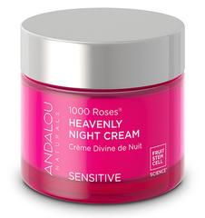 """Ночной крем для лица """"1000 роз"""", Andalou Naturals"""