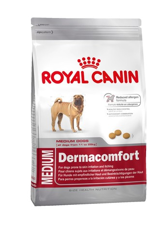 Royal Canin Medium Dermacomfort 24