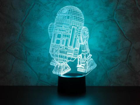 3D лампа R2-D2