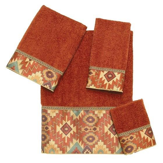 Полотенце 69х127 Avanti Tucker коричневое