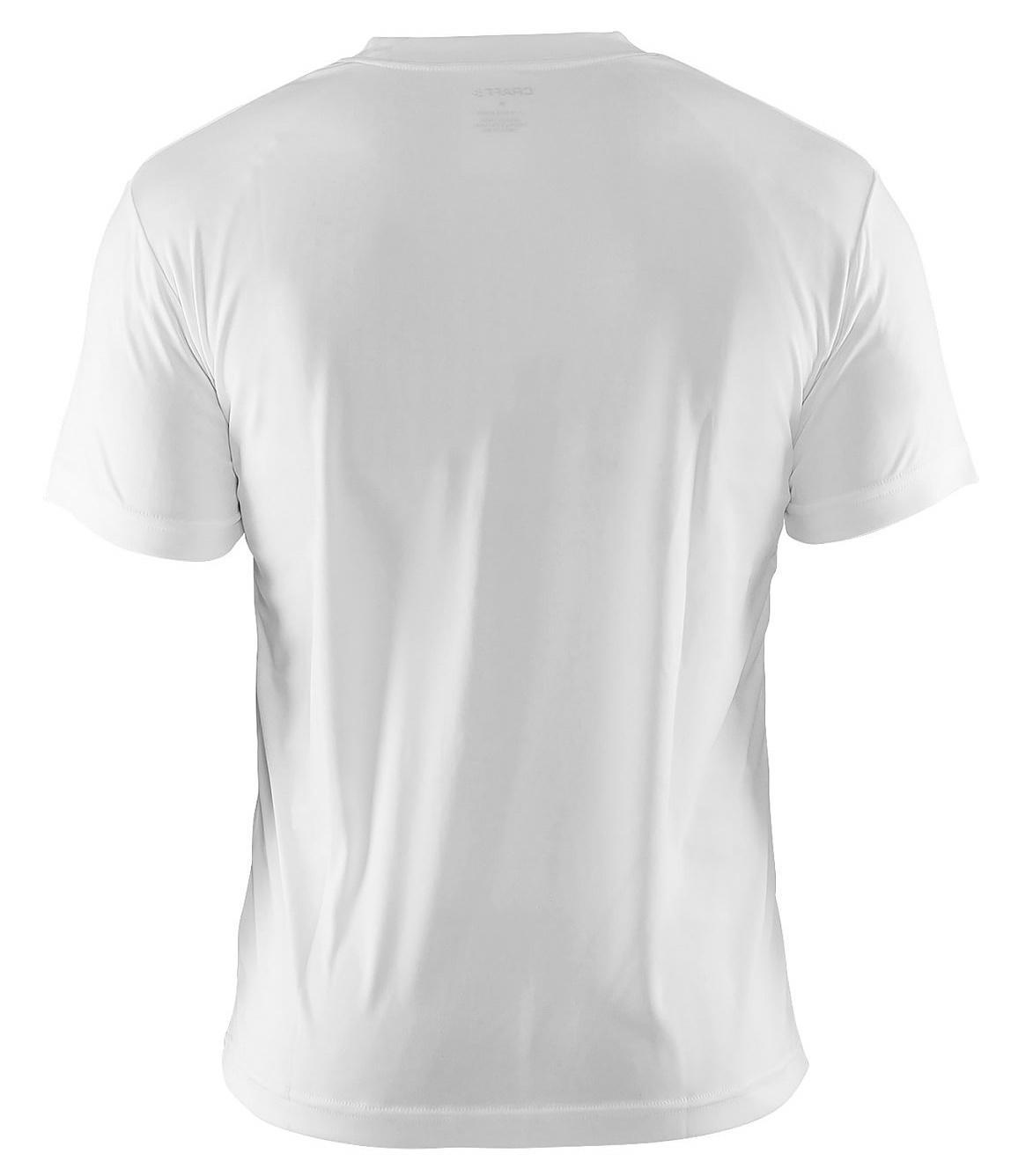 Мужская беговая футболка Крафт Active Run (198921-1900) белая фото