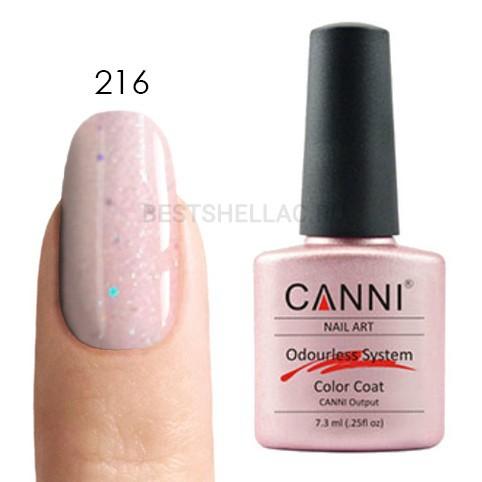 Canni Canni, Гель-лак 216, 7,3 мл 216.jpg