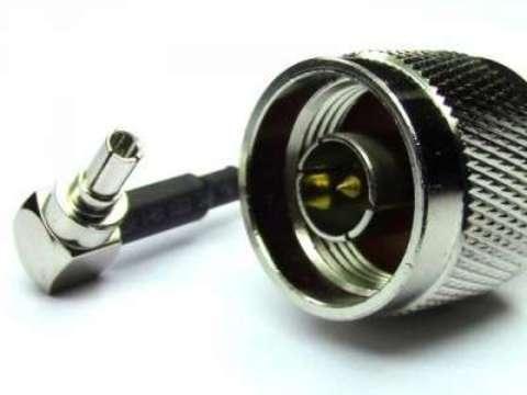 Антенный адаптер (пигтейл) N-tipe male/CRC9