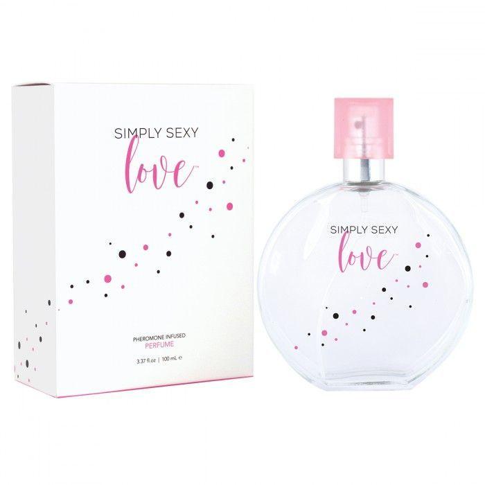 Духи и смазки для женщин: Женские духи с феромонами Perfume Simply sexy - 100 мл.