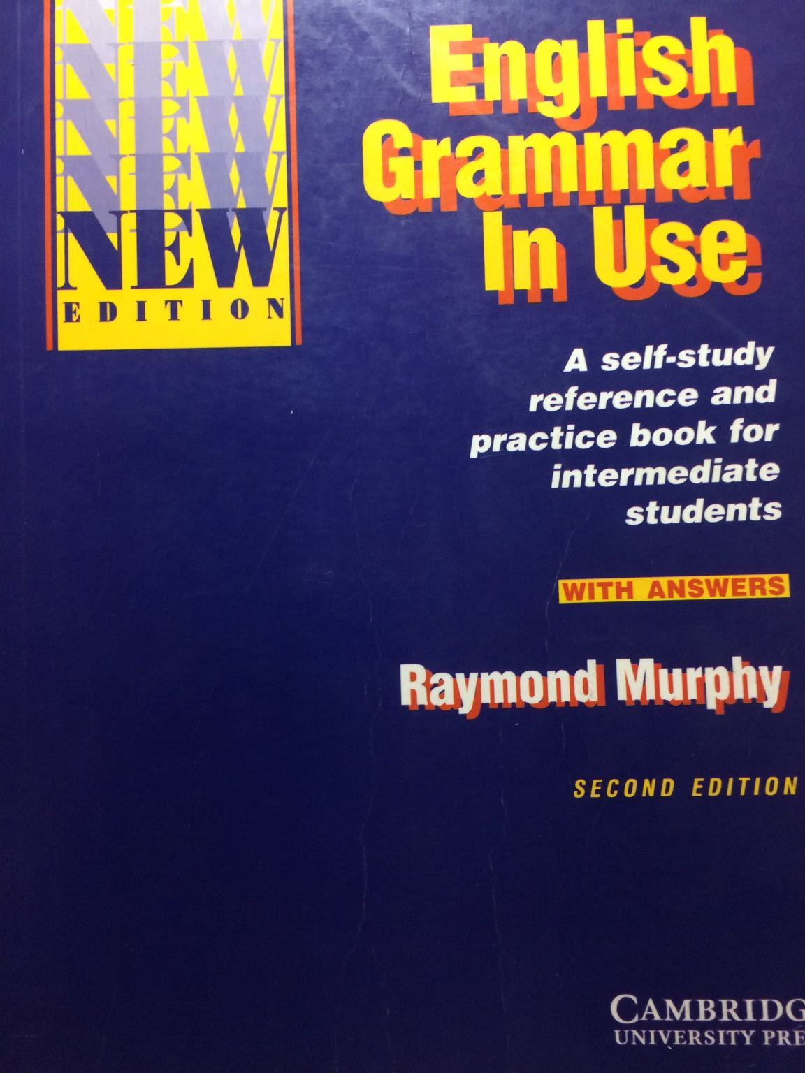 Kitab English Grammar in Use With Answers: Reference and Practice for Intermediate Students |
