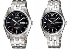 Парные часы Casio Standard: MTP-1335D-1A и LTP-1335D-1A