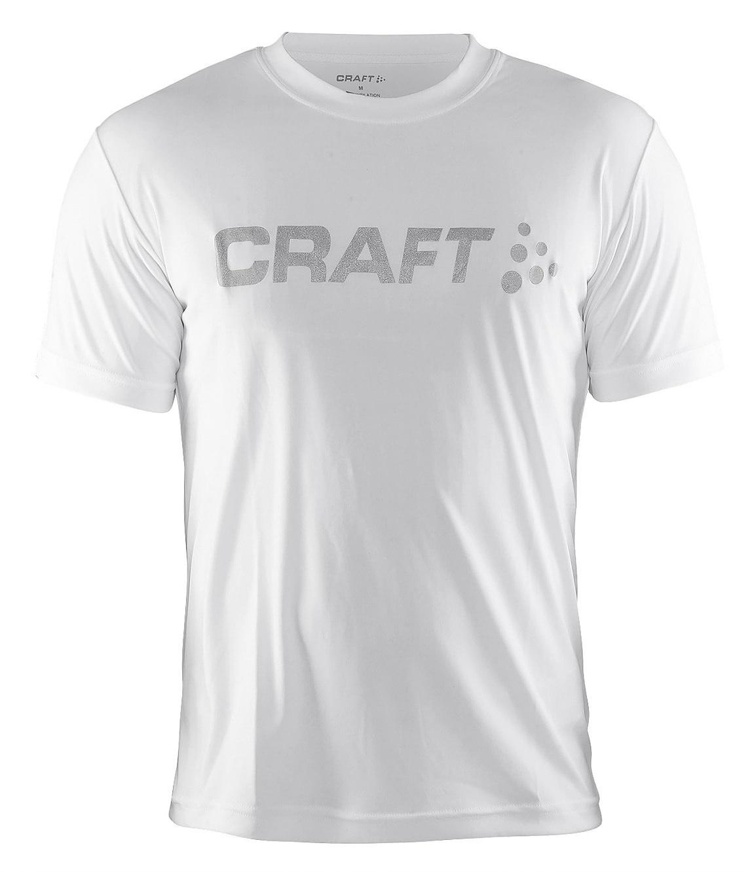 Мужская беговая футболка Craft Active Run (198921-1900) белая фото