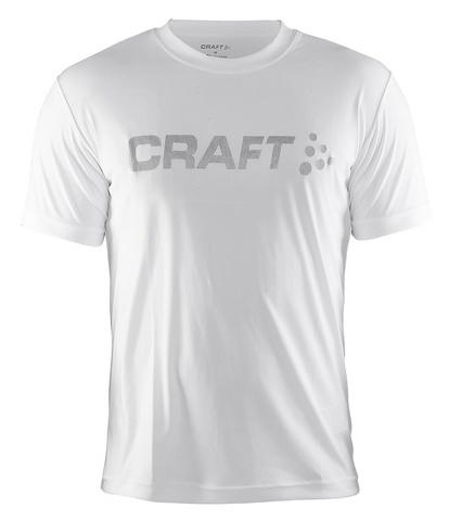 CRAFT ACTIVE RUN LOGO мужская беговая футболка