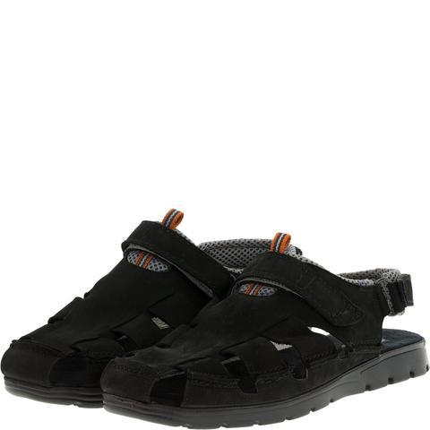 585285 сандалии мужские черные. КупиРазмер — обувь больших размеров марки Делфино